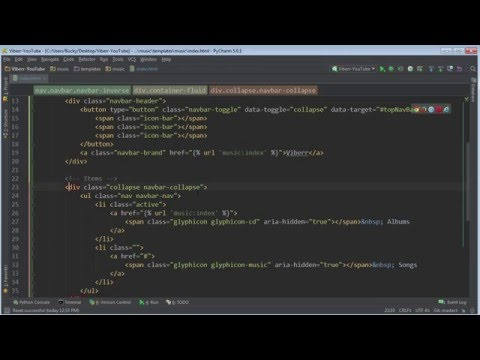 Django Tutorial for Beginners - 27 - Finishing the Navigation Menu