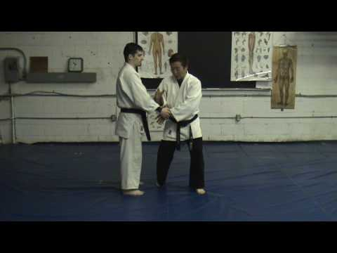 Hapkido technique - #1 white belt striking technique Image 1