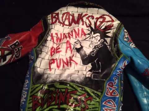 My Punk Diy Leather Jacket Youtube