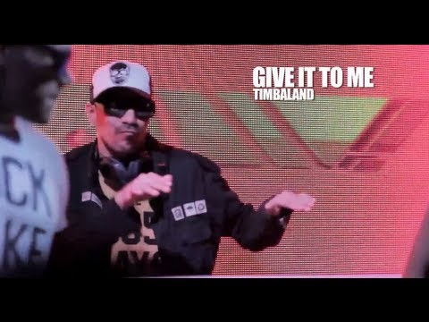 Give It To Me - Dvd YOW - Timbaland