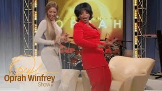 """Beyoncé Shows Oprah How to Dance """"Bootylicious"""" Style 