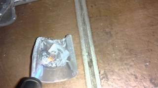 Melting Cooper - obtaining zinc with a simple torch(4)