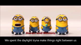 Maroon 5 - Girls Like You ft. Cardi B (Minions Version) Remix and Lyrics