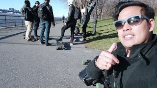 NYC - Upper West Side with Evolve, Boosted, and Trampa team