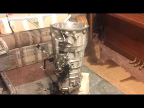 5R55E Transmission Rebuilding Exploded-View