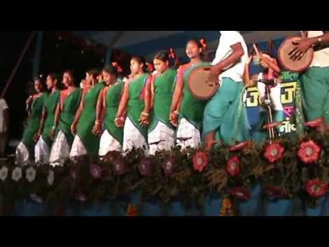 Janjatiya Mathotsav 2012,santhali Tribal Dance,netarhat,latehar,jharkhand(india) video