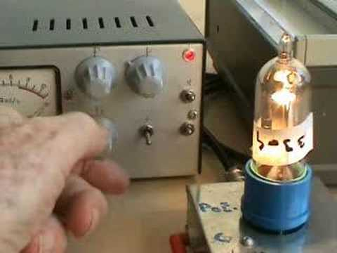 hand making vacuum tubes Part 2