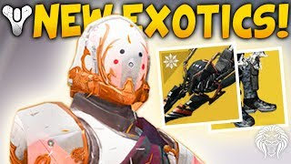 Destiny 2: NEW EXOTICS & INFUSION WARNING! Exclusive Engrams, Level 405 Gear & Bungie News