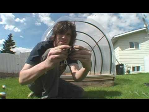 How To Hydroponics   S01e05 Simple Greenhouse