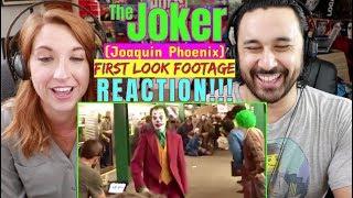 Joker Movie FOOTAGE (Subway) - Joaquin Phoenix REACTION!!!