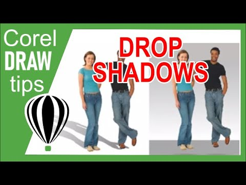 Basic shadow on image in CorelDraw