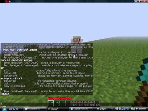 How to Make yourself OP on your Minecraft Multiplayer Server