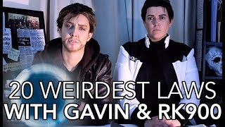 """""""20 Weirdest Laws"""" with Gavin and RK900 - Detroit: The Archives (DBH)"""