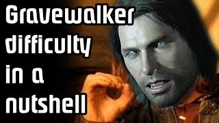 When VideoGames take Difficulty too FAR! - GraveWalker Difficulty in a Nutshell