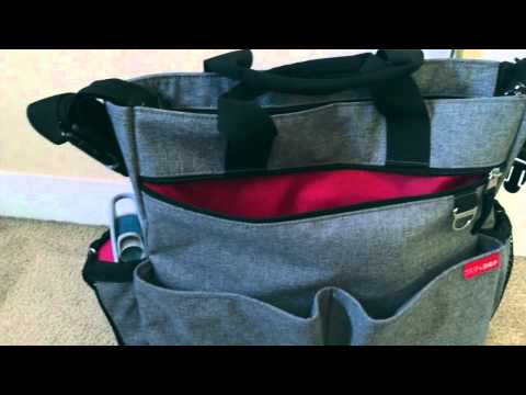 Skip Hop Duo Signature Diaper Bag Review