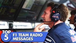 Top 5 F1 Radio Messages