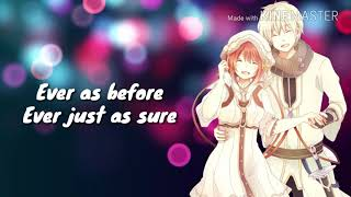 [•Nightcore•] ~ Beauty and the Beast [Cover Caleb+Kelsey/lyrics]