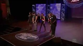 American Idol 10 - Da'quela Payne, Matthew Nuss, Naima Adedapo & Jacob Lusk - Hollywood Group Round