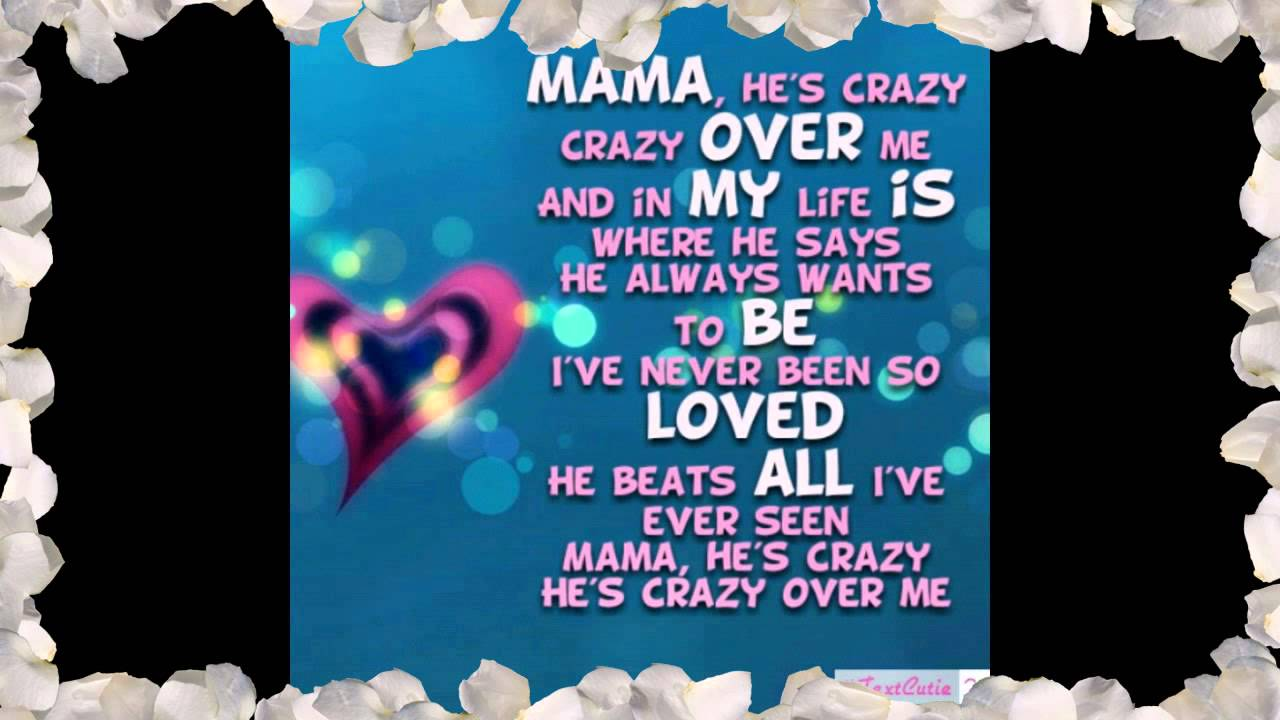 The Judds - Mama He's Crazy Lyrics | MetroLyrics