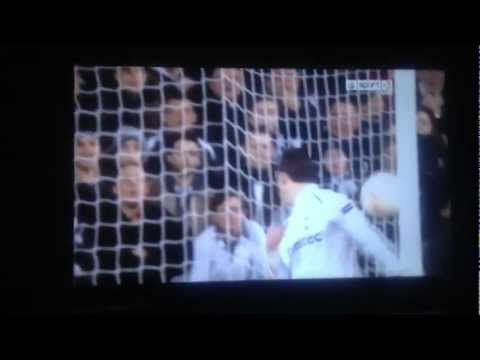 Gareth Bale Amazing Header Goal Tottenham Vs Inter Milan (3-0) - Europa League