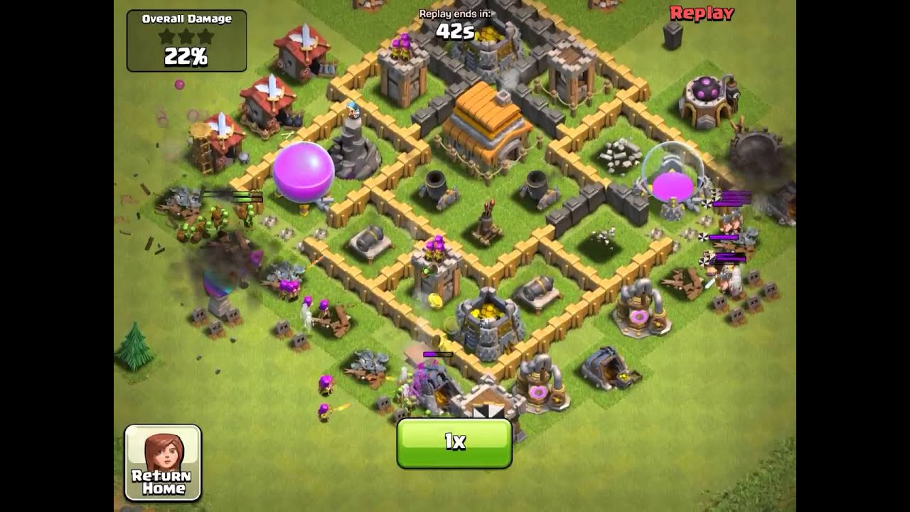 Clash Of Clans How To Build A War Base