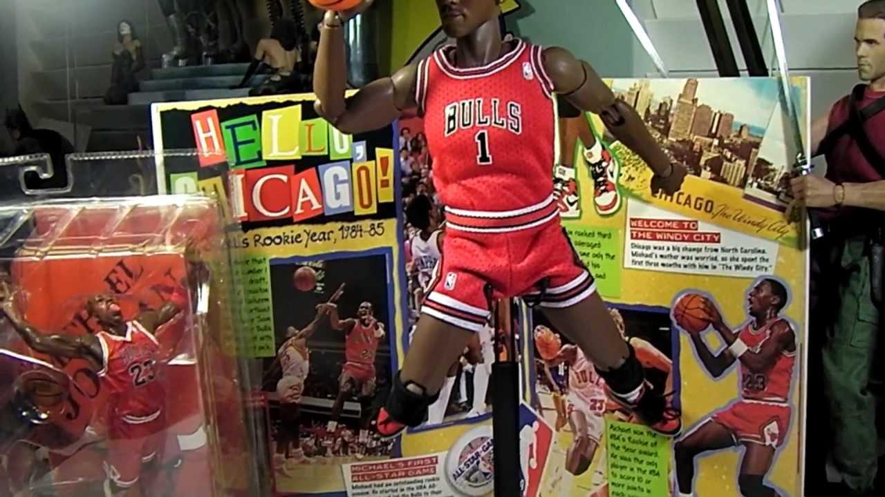Short Custom 1 6 12 Quot Michael Jordan Headplay Amp Hot Toys