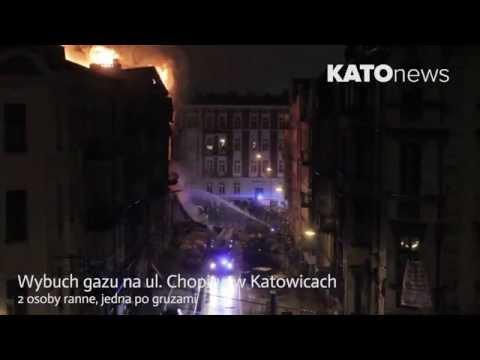 Wybuch Gazu W Katowicach Na Ul. Chopina (wiecej Info Opis)