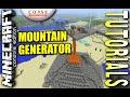 MINECRAFT - PS4 - MOUNTAIN GENERATOR - HOW TO - TUTORIAL - ( PS3 / XBOX / PC / VITA ) TU19