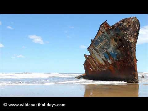 The Jacaranda Shipwreck, South African Wild Coast