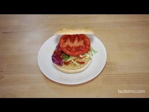 Hamburguesa con queso cocinar en casa es for Cocinar soja texturizada