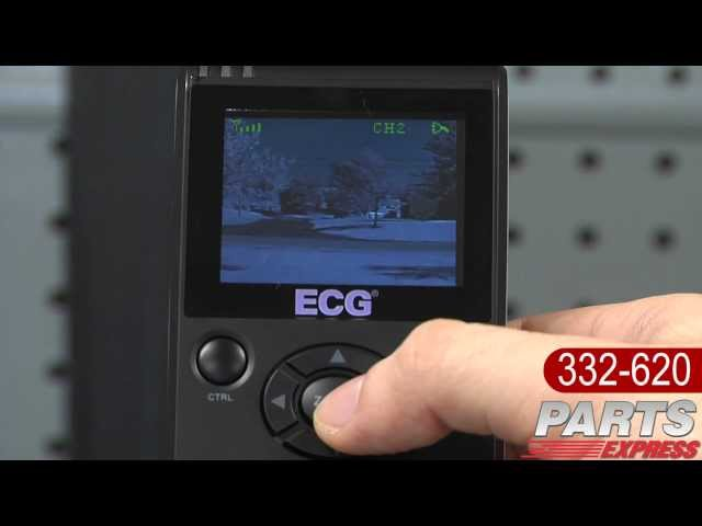 ECG WSS-1 Wireless Security Camera System