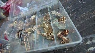 GOLD & SILVER JEWELRY FOUND AT FORECLOSURE!