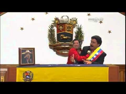 MADURO EN LA TOMA DE SUPOSICION __ HUMOR