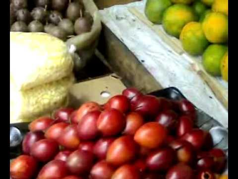 Kenya Nairobi Street Vegetable Market