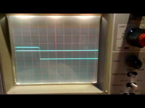 Analog Oscilloscope.