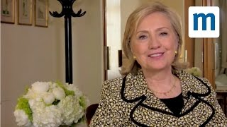 Mumsnet meets Hillary Clinton