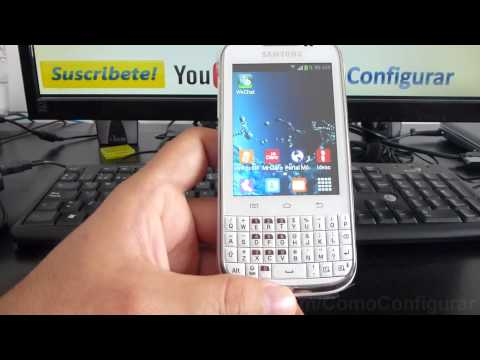 aspectos basicos samsung galaxy chat b5330 español Video Full HD