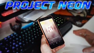 WM10 - Project NEON starts making its appearence