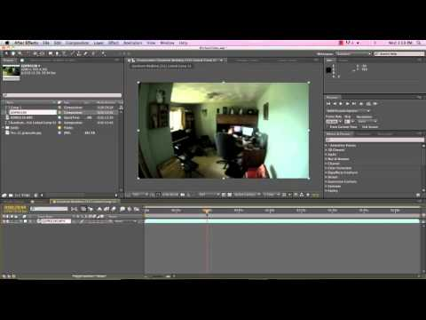 Tutorial: Fisheye Lens Correction with After Effects