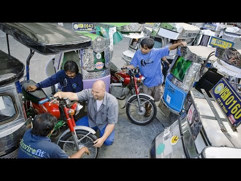Tim Bauer - Reduce pollution from motorized tricycles in Asian cities