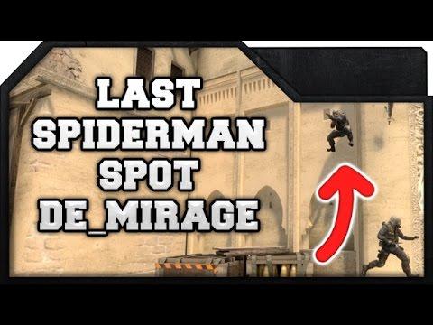 CS:GO - Last Spiderman Spot on de_mirage