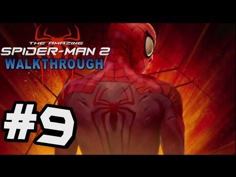 The Amazing Spider-Man 2 Walkthrough Part 9 Black Cat Boss