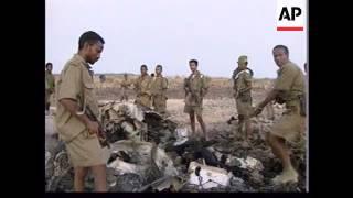 ERITREA: FIGHTING CONTINUES AS TROOPS SHOOT DOWN ETHIOPIAN GUNSHIP
