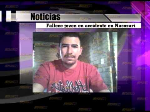 Fallece joven en accidente en Nacozari ...
