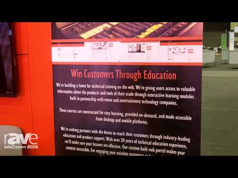 InfoComm 2015: INVENT Explains Their Institute Thing Service