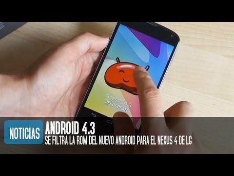 Cómo y dónde descargar Android 4.3