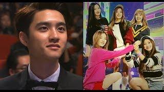 K Idol Celebrities Reaction To Red Velvet