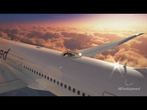 Windspeed's SkyDeck - Luxury Seats On Top Of A Plane