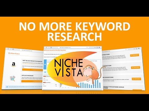 Niche Vista Introduction - Say Bye To Boring Niche Research