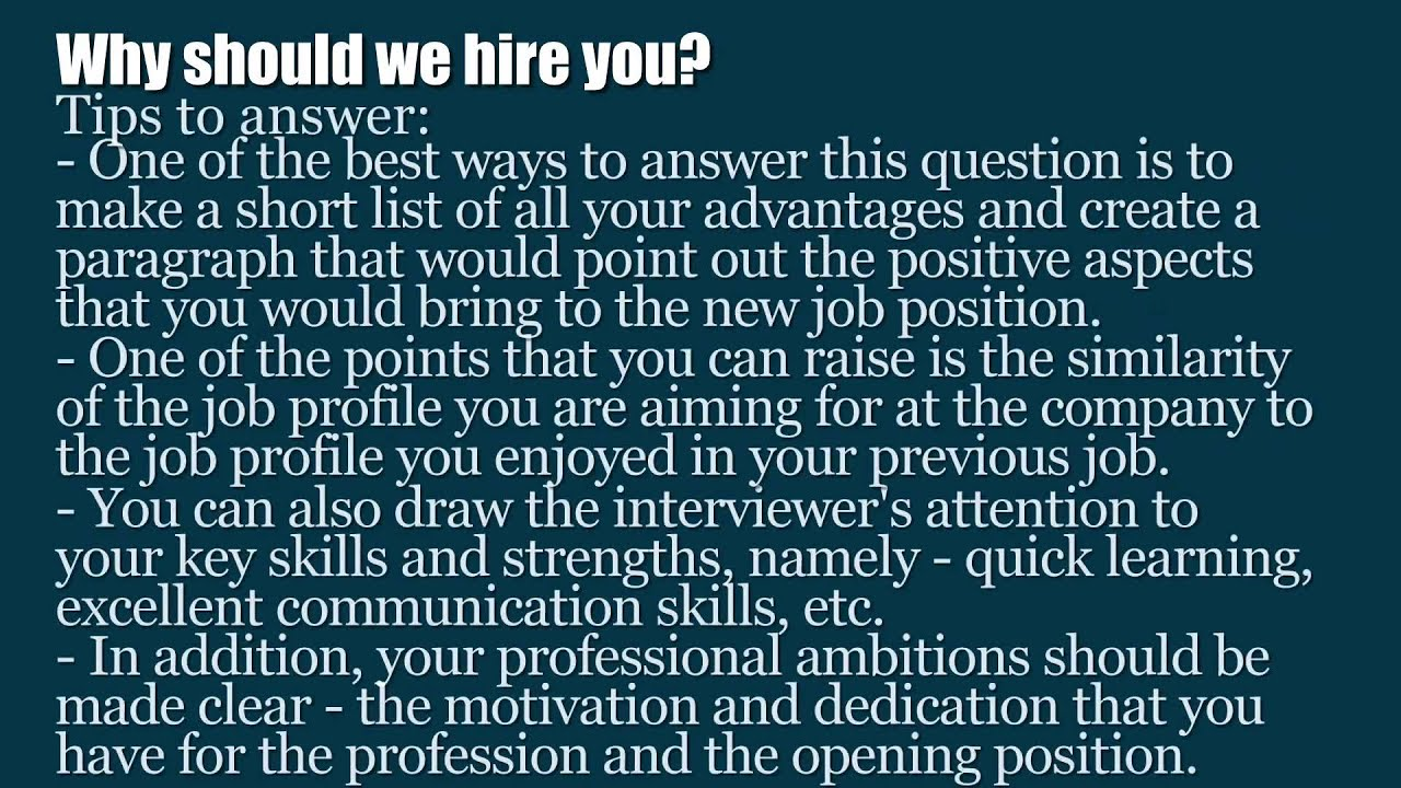 Good Questions To Ask An Interview - livmoore.tk